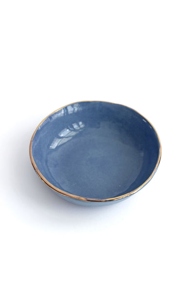 BLUE JEWELRY DISH