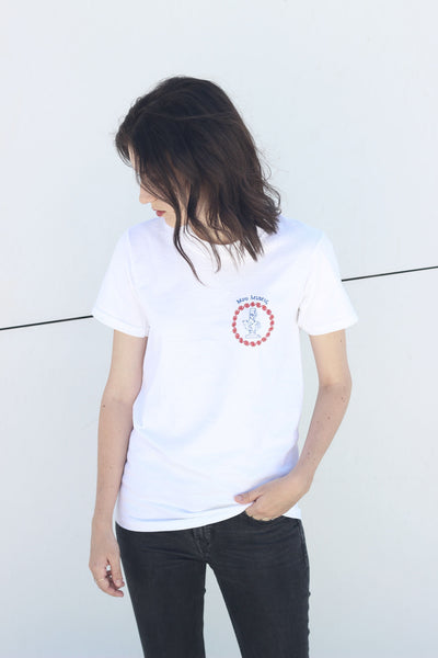 YOU ARE MISSING FROM ME EMBROIDERED T-SHIRT