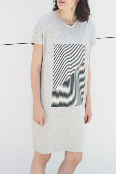 RECTANGLE MELANGE DRESS