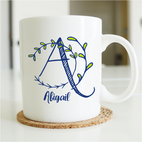 Personalised Monogram Mug