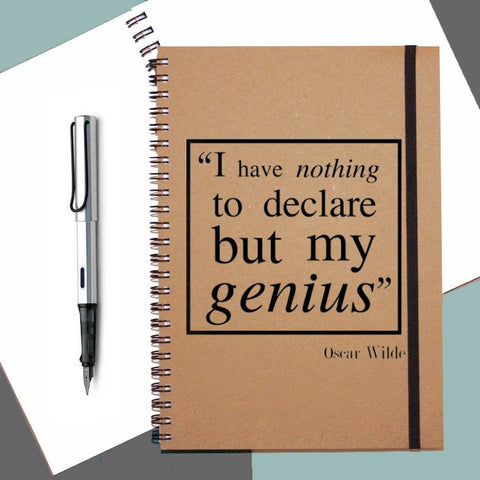 Oscar Wilde Quote Notebook