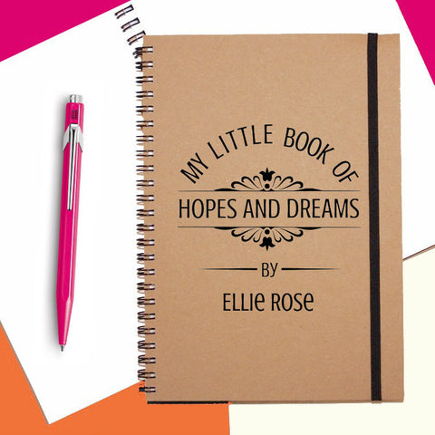 Hopes&Dreams Personalised Notebook
