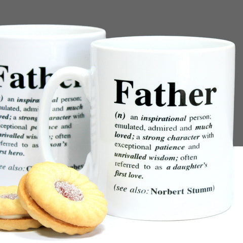 Personalised Father Definition Mug
