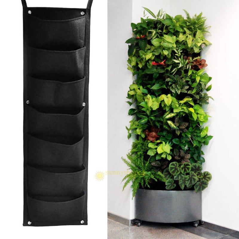 Indoor Gardenz 7 Pocket Wall Hanging Garden Planter