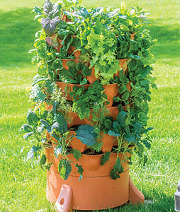 Garden Tower 2 The Composting 50 Plant Organic Container Garden