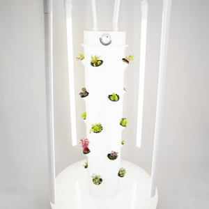 Vertical Growing Tower Garden LED Grow Lights