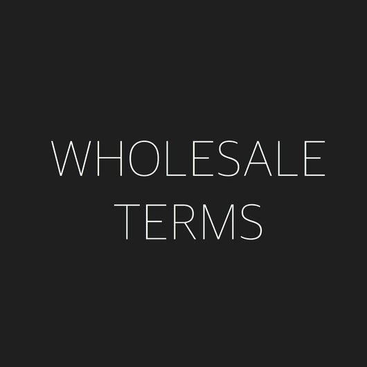 Wholesale Terms