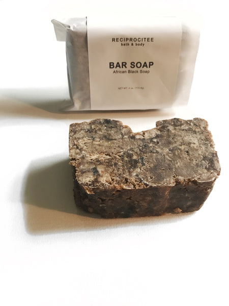 African Black Soap (4 oz)