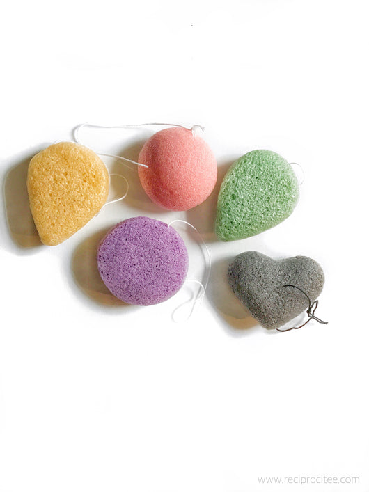 Reciprocitee Konjac Sponges