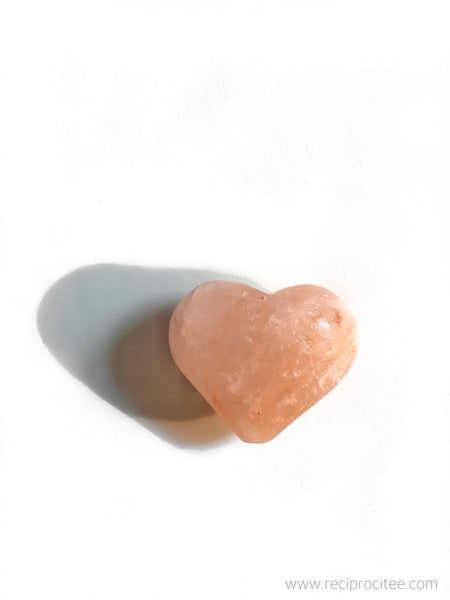 Reciprocitee Pink Himalayan salt massage stone
