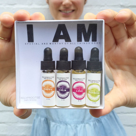 Aromatherapy Mini Set of 4