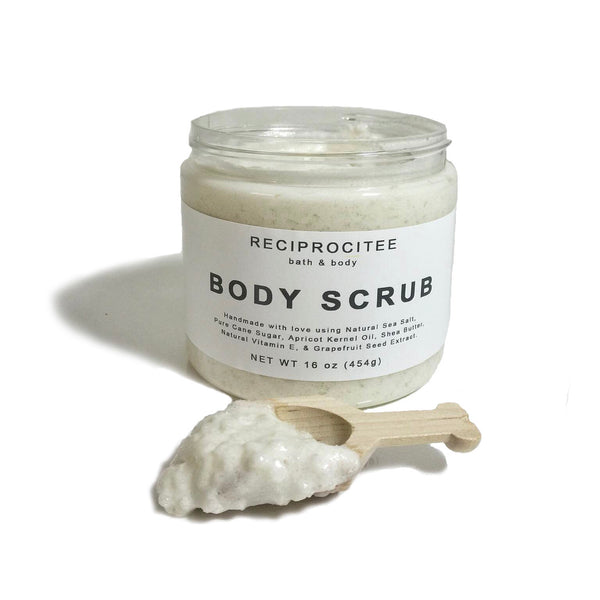 Reciprocitee body scrub