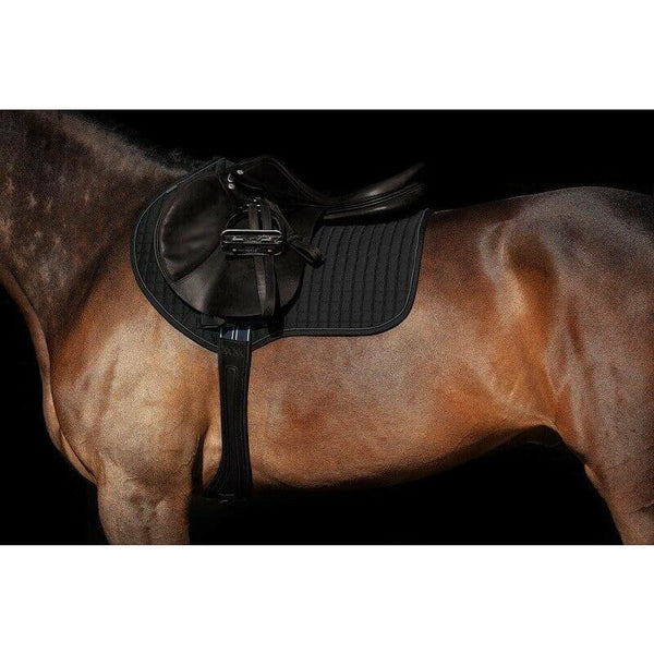 Horseware Sport Wicking Piped Saddlepad Black/Rosewood/White/Navy Pony/Cob/Full
