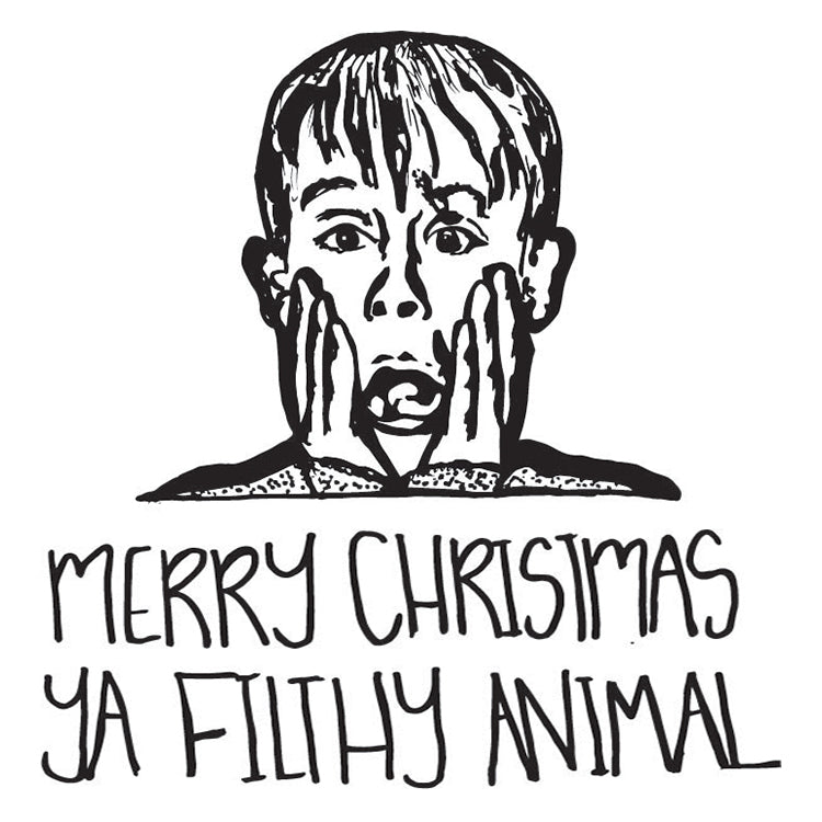 MERRY CHRISTMAS YA FILTHY ANIMAL (Wrapping Paper)