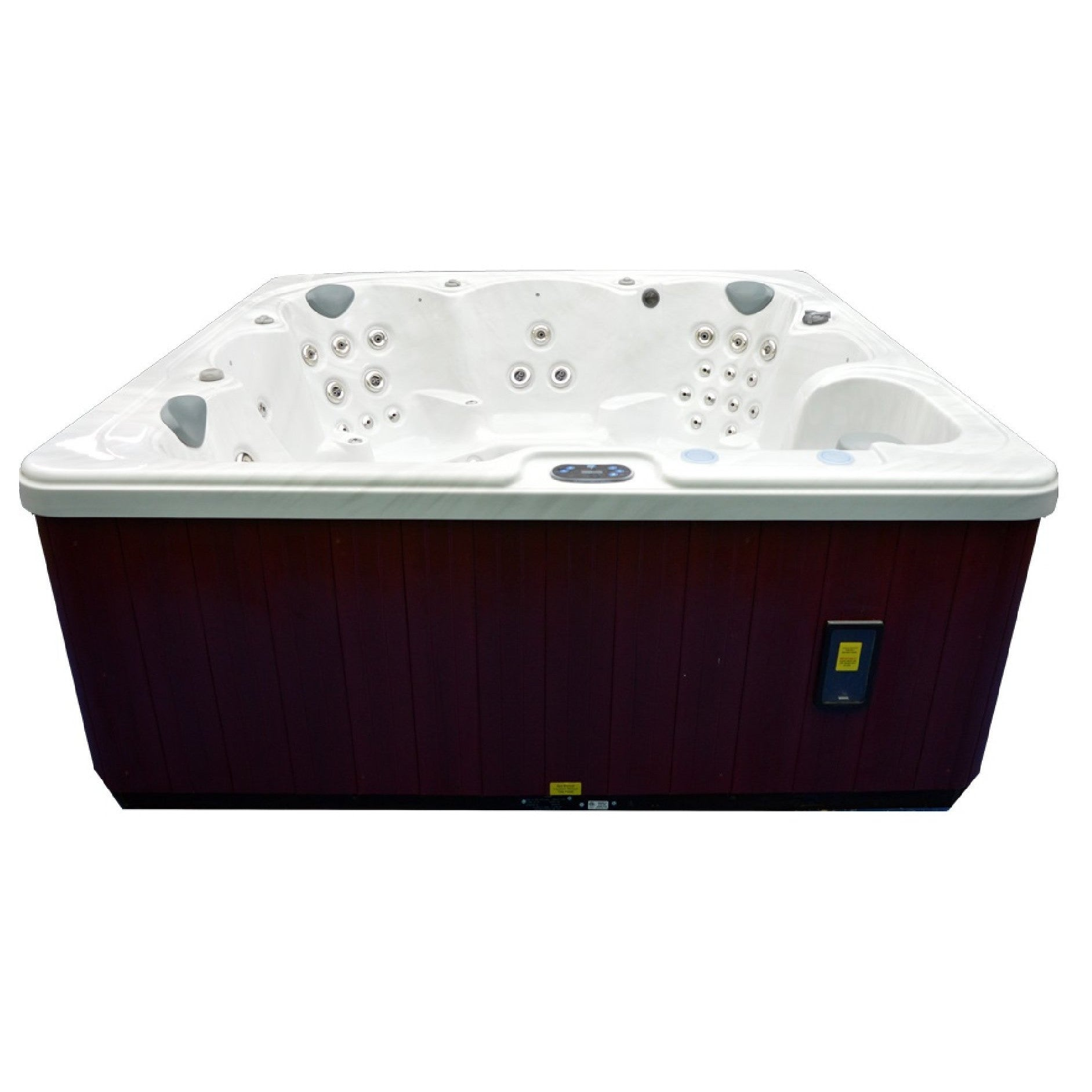 ... 6 Person 90 Jet Spa With MP3 Auxiliary Output By Home And Garden Spas  ...