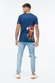 HYPE TOY STORY NAVY SIDE SQUAD MEN'S T-SHIRT