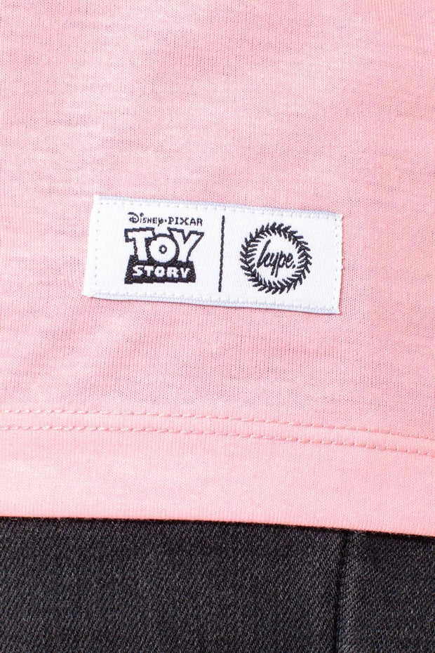 HYPE TOY STORY PINK WHEEZY SCRIPT KIDS T-SHIRT
