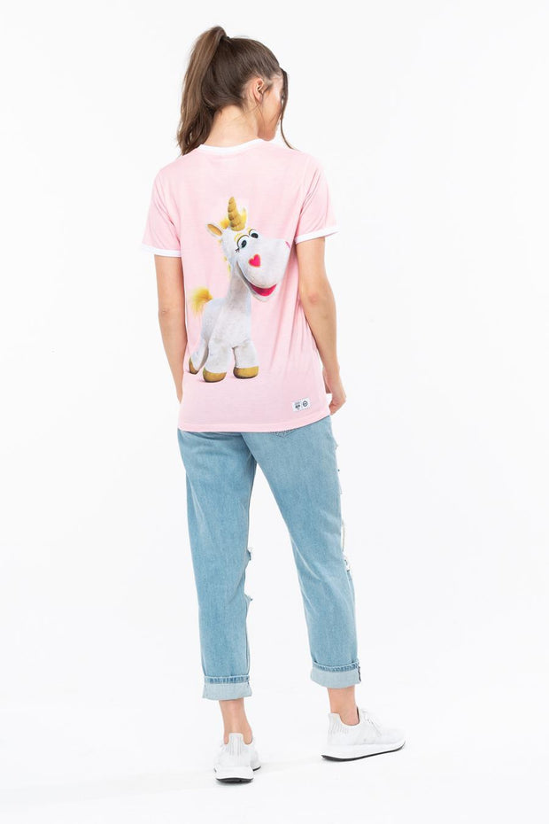 HYPE TOY STORY PINK BUTTERCUP WOMEN'S T-SHIRT