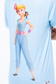 HYPE TOY STORY BLUE BO PEEP WOMEN'S T-SHIRT
