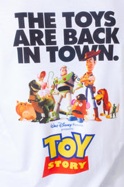 HYPE TOY STORY WHITE POSTER BACK PRINT MEN'S T-SHIRT