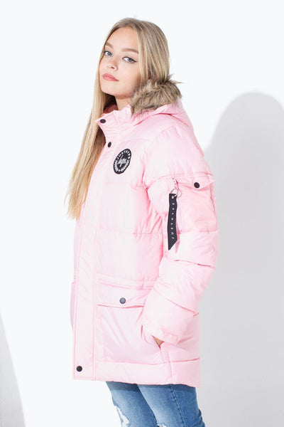 HYPE PINK EXPLORER KIDS JACKET