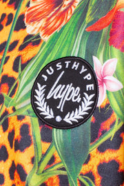 HYPE JUNGLE 23 KIDS CROP HOODIE