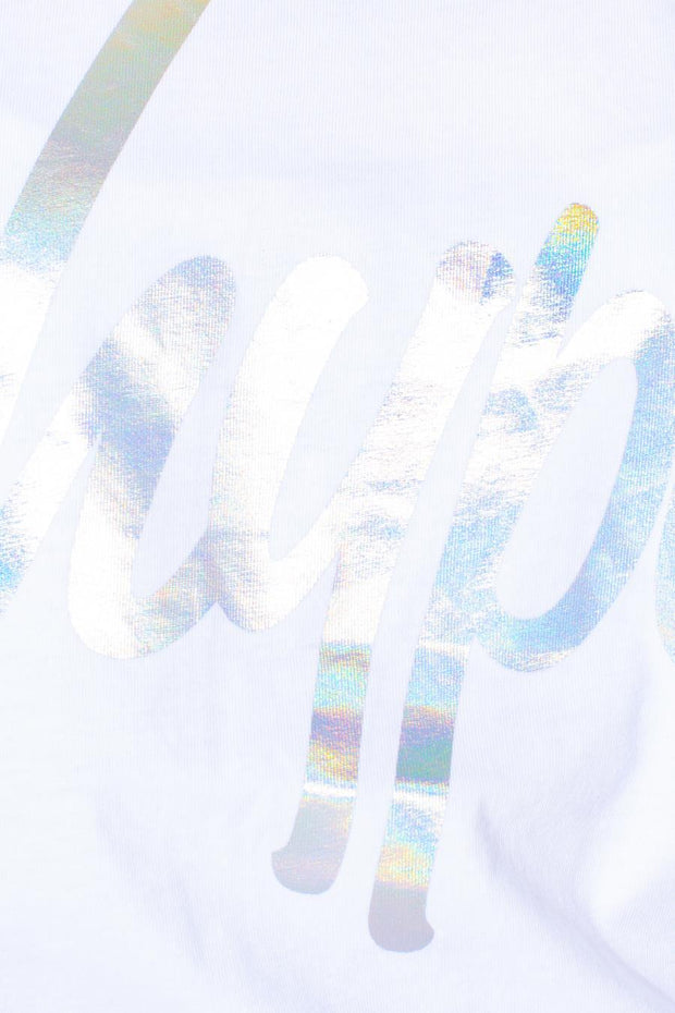 HYPE IRIDESCENT SCRIPT KIDS T-SHIRT