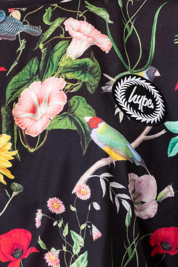 HYPE REGAL BIRD WOMEN'S CROP T-SHIRT
