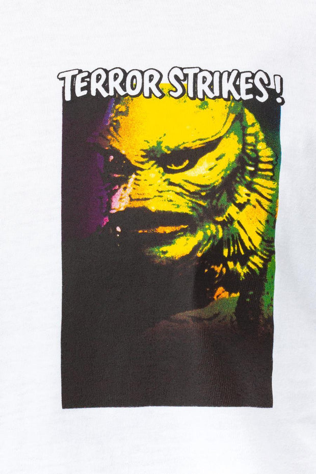HYPE UNIVERSAL MONSTERS LAGOON CREATURE MEN'S L/S T-SHIRT