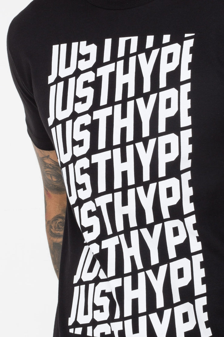 Hype Black/White Repeat Men's T-Shirt