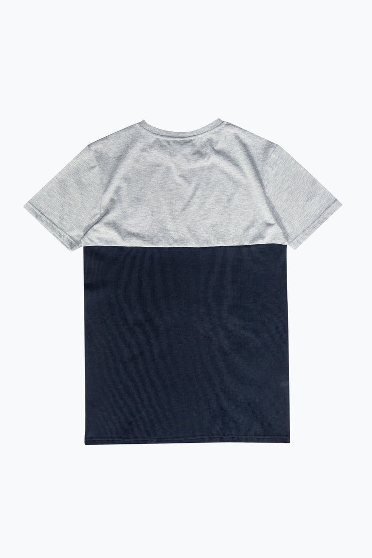 Hype Grey/Navy Bradford Men's T-Shirt