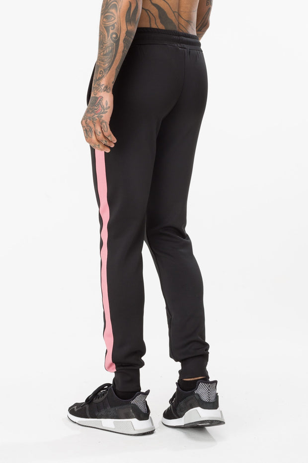 Hype Black Vine Poly Stripe Men's Joggers