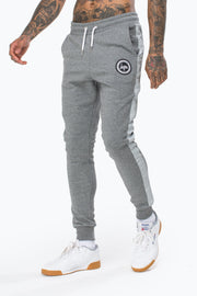 Hype Grey Stripe Crest Men's Joggers
