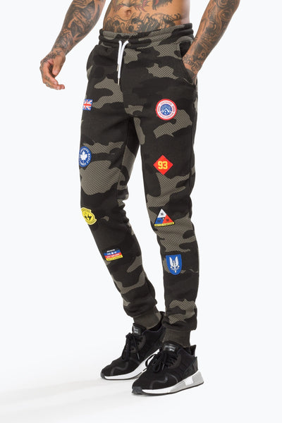 Hype Khaki Camo Patches Men's Joggers