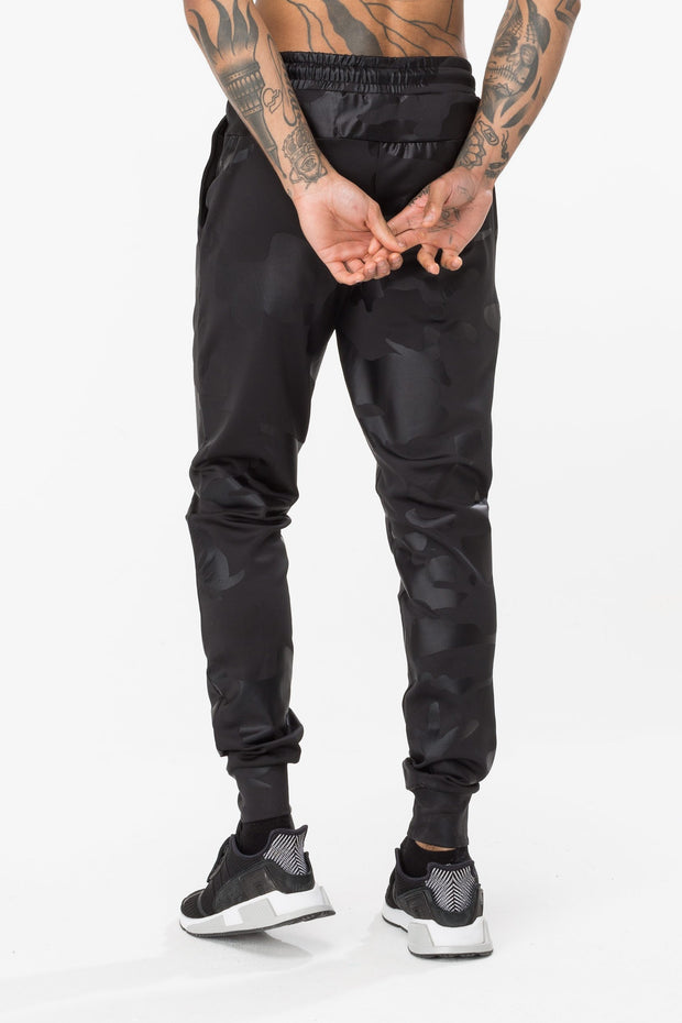 Hype Black Alexa Camo Men's Joggers