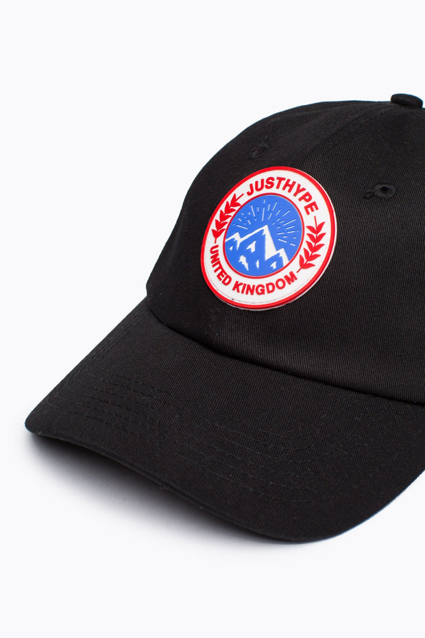 Hype Black Mountaineering Dad Hat
