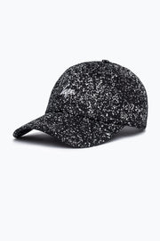 Hype Black/White Speckle Dad Hat