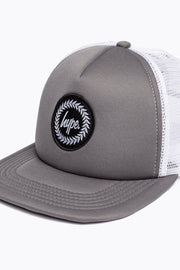Hype Charcoal/White Crest Trucker Hat
