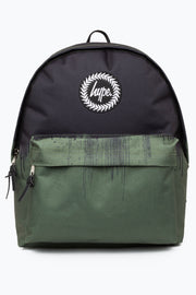 Hype Black/Khaki Drips Backpack