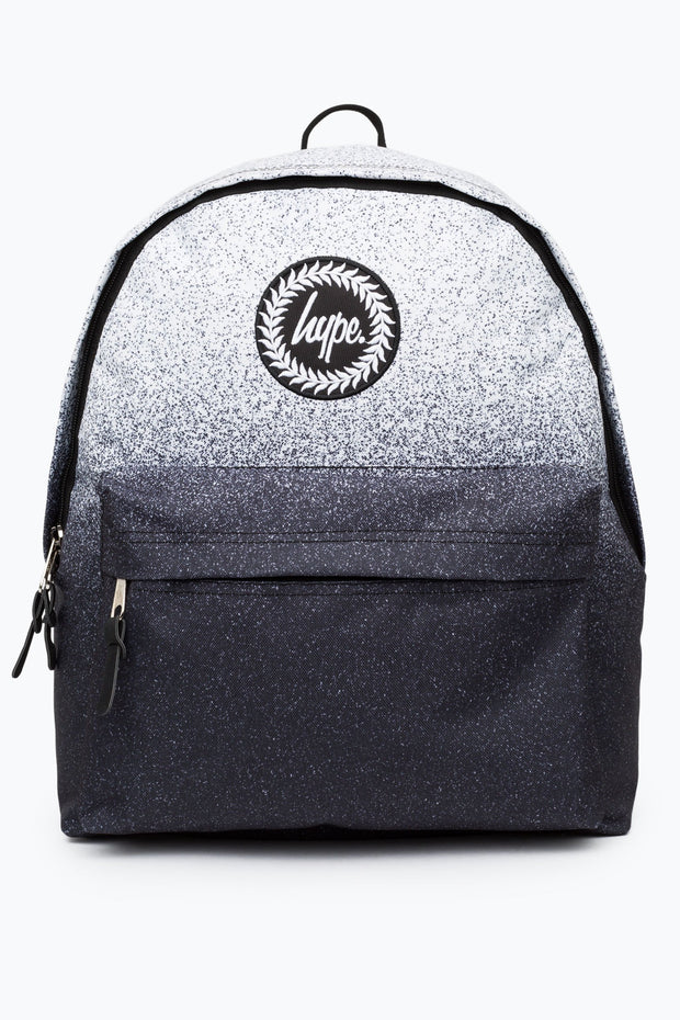 Hype White/Black Speckle Fade Backpack