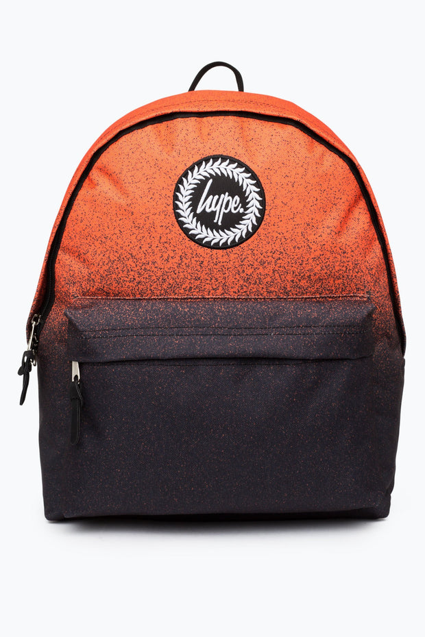 Hype Orange/Black Speckle Fade Backpack
