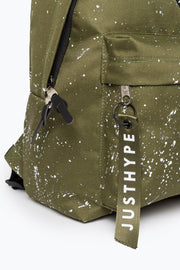 Hype Khaki/White Speckle Backpack