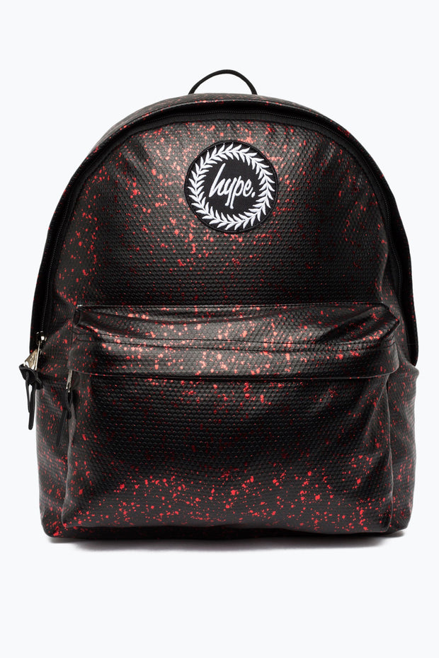 Hype Black/Red Flakes Backpack