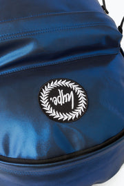 Hype Blue Matte Foil Backpack