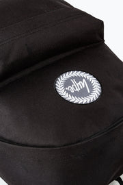 Hype Black Holo Crest Backpack