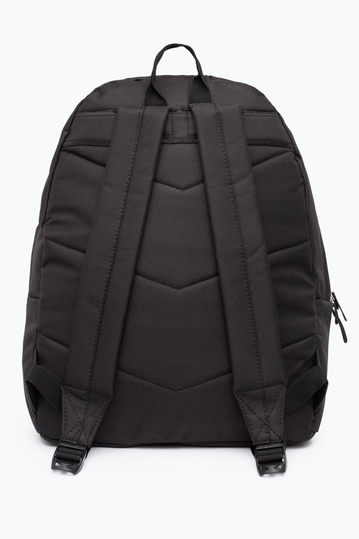 Hype Black/Pink Glitter Pocket Backpack