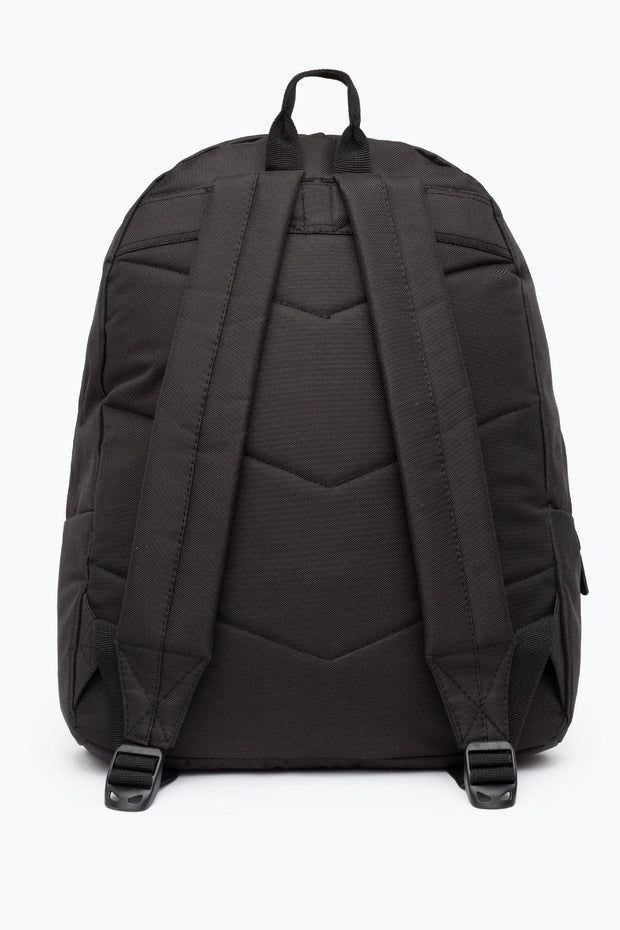 Hype Black/Coral Iridescent Pocket Backpack