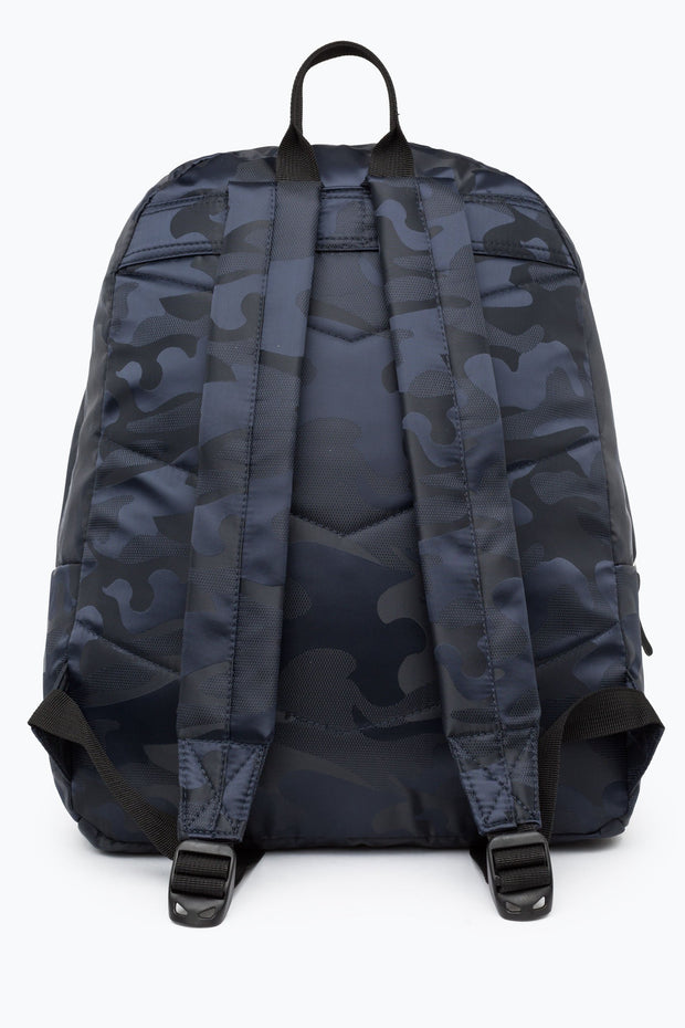 Hype Navy Tonal Camo Backpack