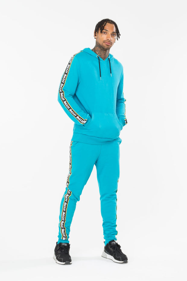 Hype Teal Warning Men's Joggers
