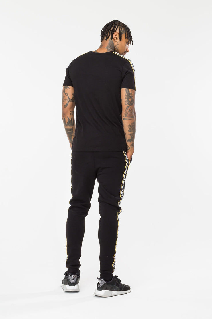 Hype Black Warning Men's T-Shirt